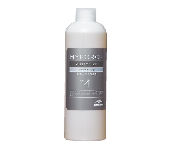 5G頂級護髮  No.4 角蛋白填補(300ml/填充瓶噴頭)